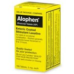 Alophen Enteric Coated Stimulant Laxative - 100 ea