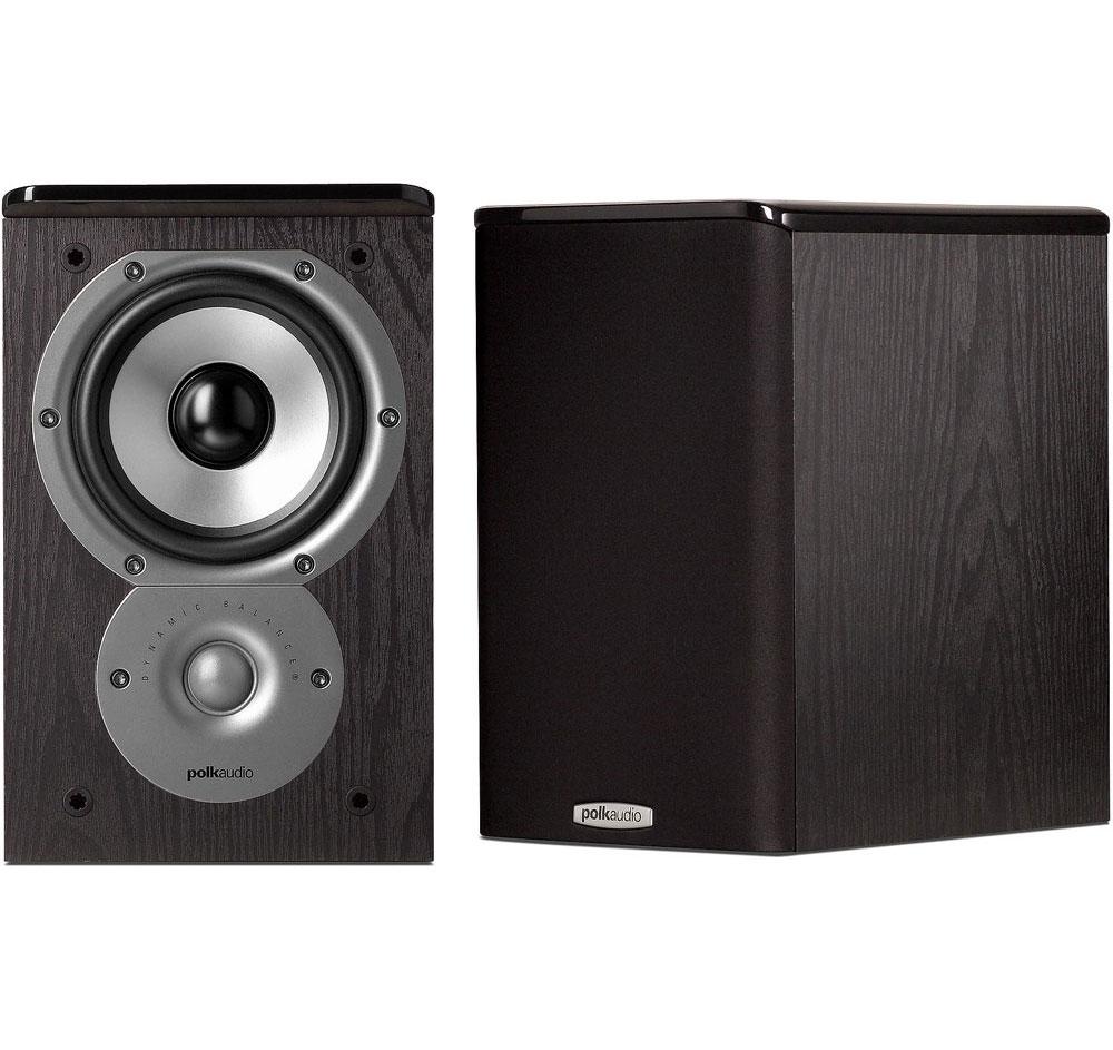 Polk Audio TSi 100 Black (Pr.) Bookshelf Loudspeakers