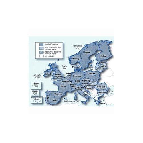 Garmin City Navigator NT Europe v9  City Navigator NT Europe v9 Preprogrammed Cards