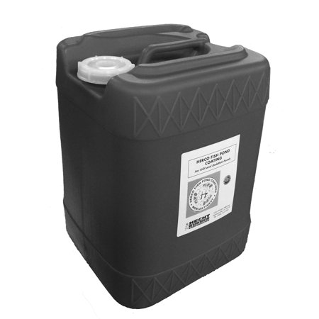 Herco H-55 Pond Coating - Five Gallons - Black ()