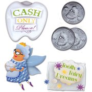 Tooth Fairy Stacked Stickers 5/pkg-