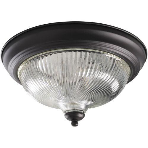 Hampton 13 Whipped Flushmount Indoor Lighting Oil Rubbed Bronze