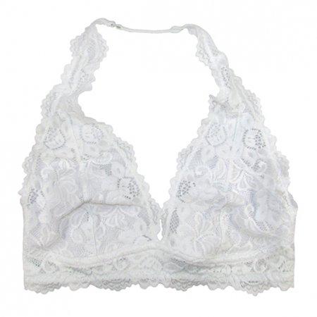 19bc417c4c4 Coobie - Undie Couture Halter Lace Bralette (Medium