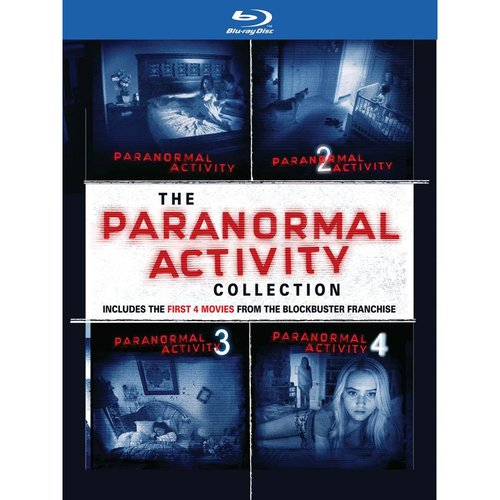 Paranormal Activity Quadrilogy Gift Set