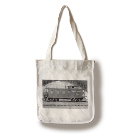 Washington - Union Pacific Caboose - OWR&N Railroad (100% Cotton Tote Bag - (Union Pacific Caboose)