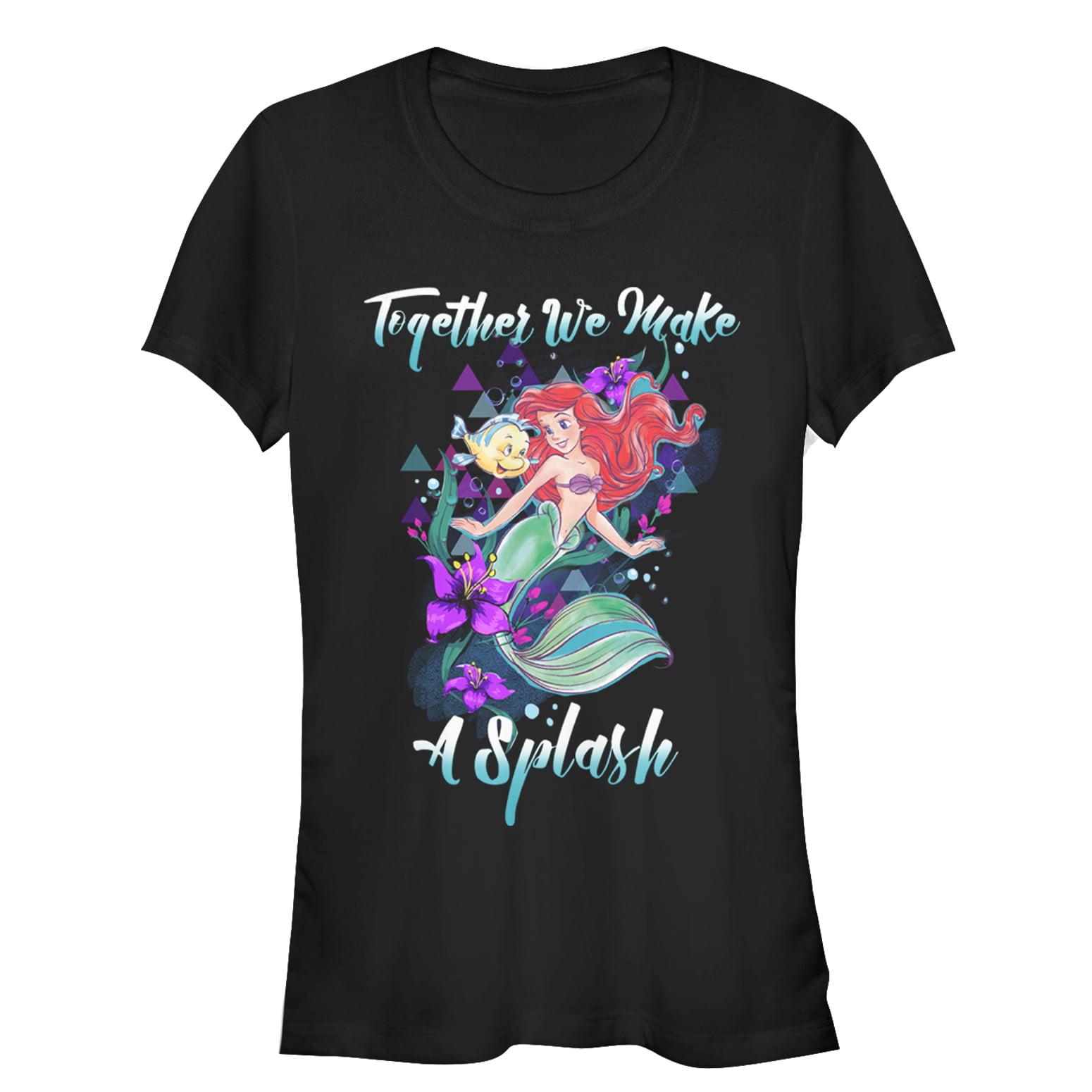 The Little Mermaid Juniors' Make a Splash T-Shirt