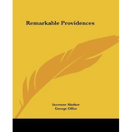 Remarkable Providences - image 1 of 1