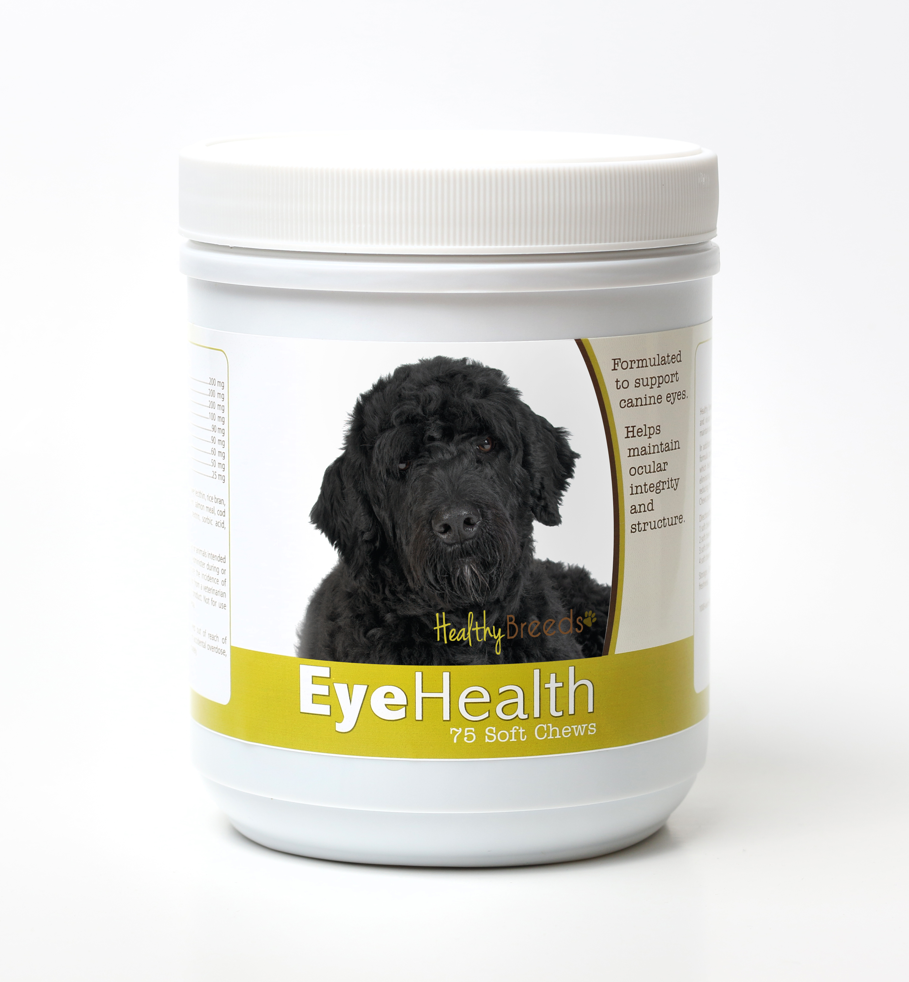Healthy Breeds Dog Eye Health Support Soft Chews for Portuguese Water Dog 75 Count