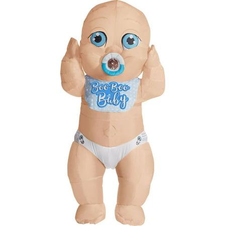Adult Inflatable Baby Boy Costume