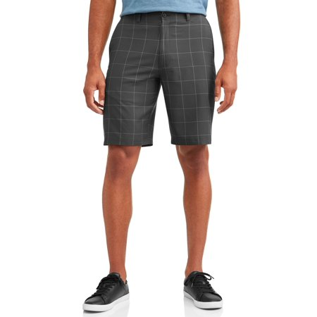 Men's Performance Plaid Active Flex Waistband Short](Plaid Madras Shorts)