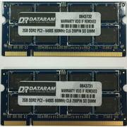 4GB (2X2GB) DDR2  MEMORY FOR  Toshiba Portg A600 3G-12T