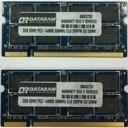 4GB (2X2GB) DDR2  MEMORY FOR  Sony VAIO CS Series VGN-CS190NCB (Vaio Cs Series Notebooks)