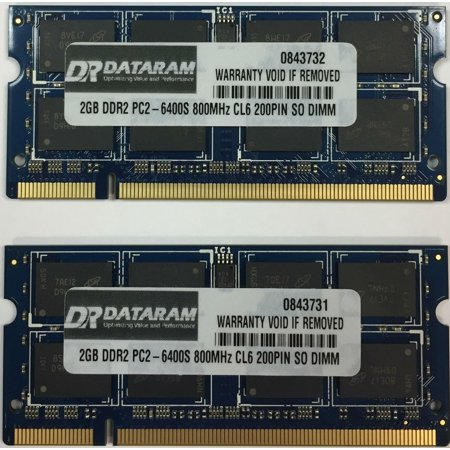 4GB (2X2GB) DDR2  MEMORY FOR  Acer Aspire ONE D255-2532
