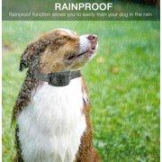 ANGGREK Bark Control Collar, Bark Trainer,Rechargeable Dog Collar Anti Bark Control Training Stop Barking Vibration Trainer