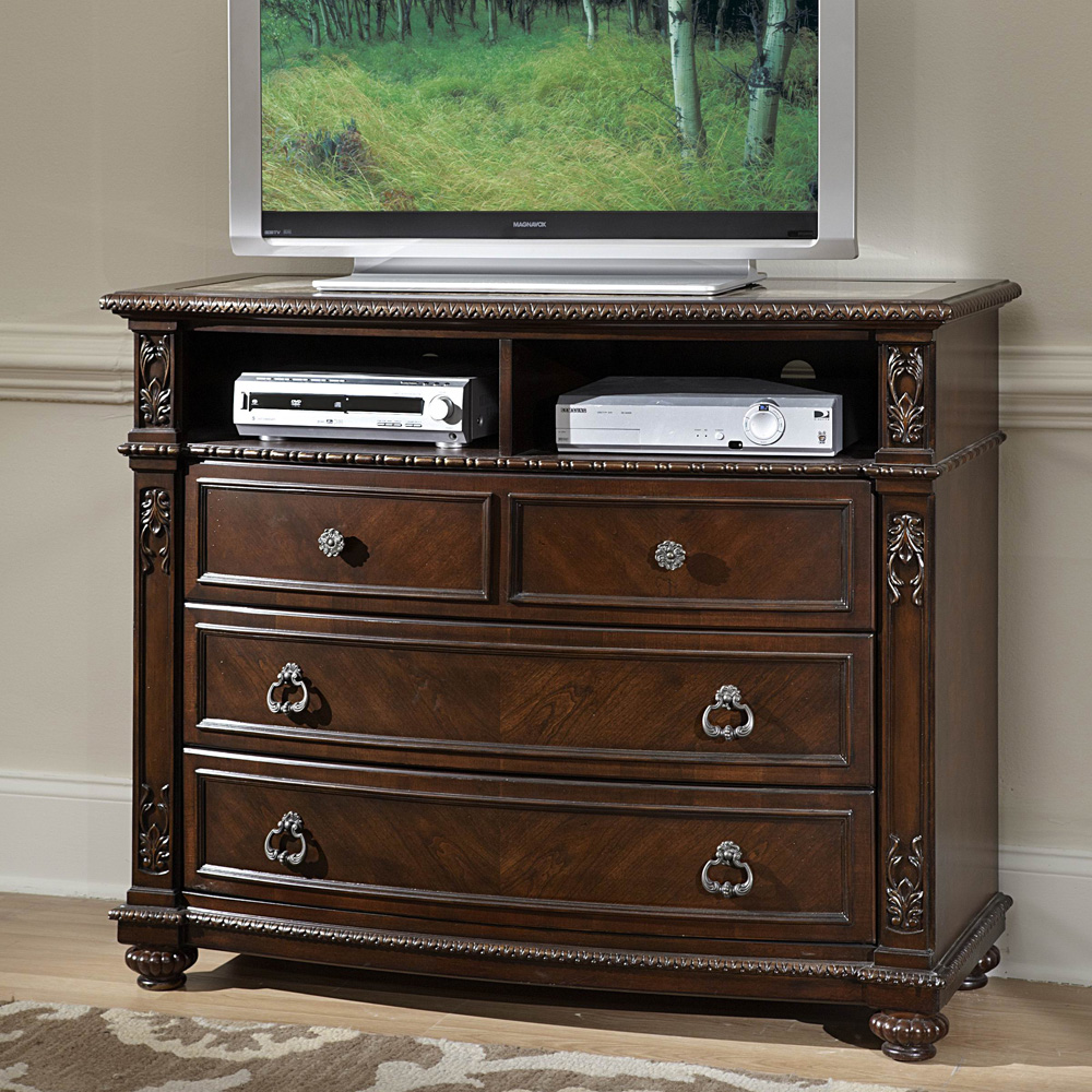 TV Chest, Marble inset