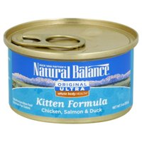 Natural Balance Whole Body Can Kitten Food 3 Oz (Pack of 24)