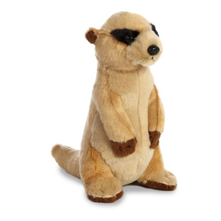 - Meerkat Small Destination Nation - Stuffed Animal by Aurora Plush (50482)