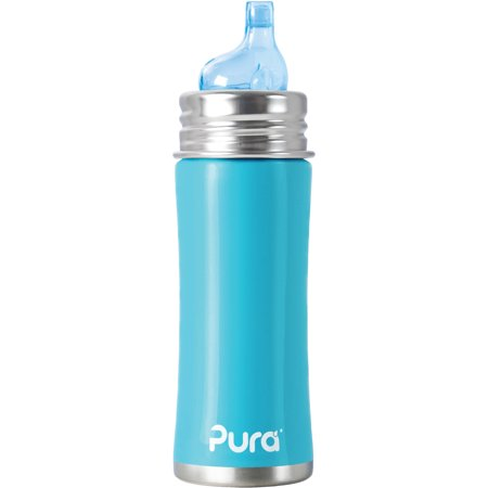 Pura Kiki Stainless-Steel Sippy Cup, 11 Oz