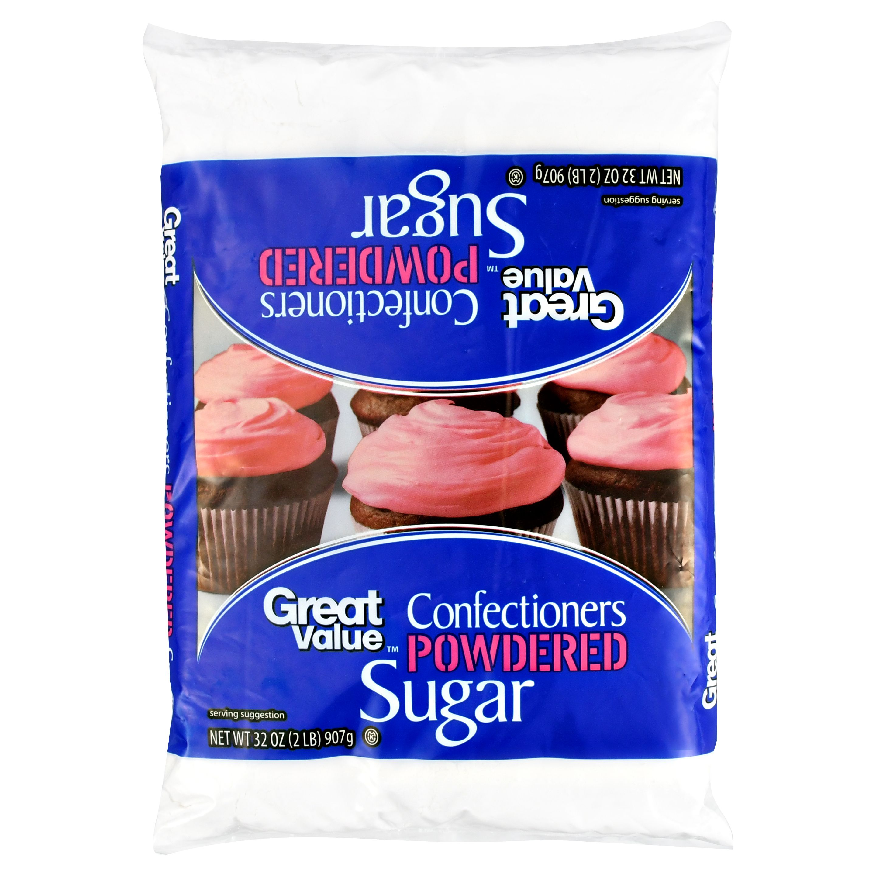 Great Value Confectioners Powdered Sugar, 32 oz by Wal-Mart Stores, Inc.