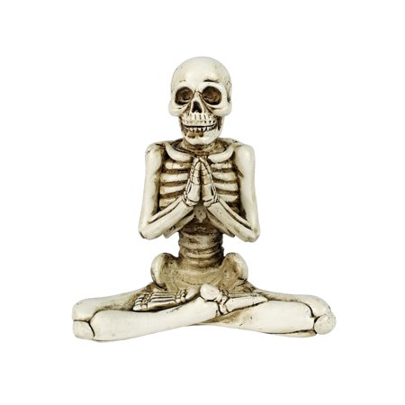 Polyresin Halloween Yoga Décor