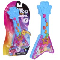 Trolls World Tour Poppys 7-Inch Mini Groovin Guitar, Ages 3+