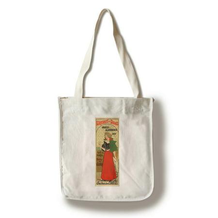 Edmond Sagot - Etrennes aux Dames Vintage Poster (artist: Marie) France c. 1897 (100% Cotton Tote Bag - (Dane Tote)