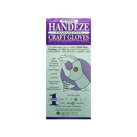Berroco Handeze Glove Beige Single Size 4