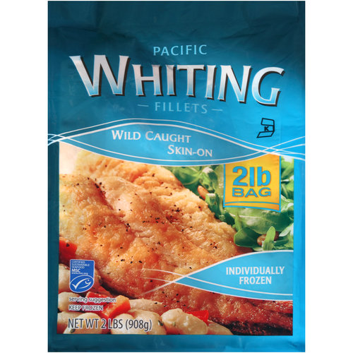 Frozen Whiting Filets, 2 lbs.