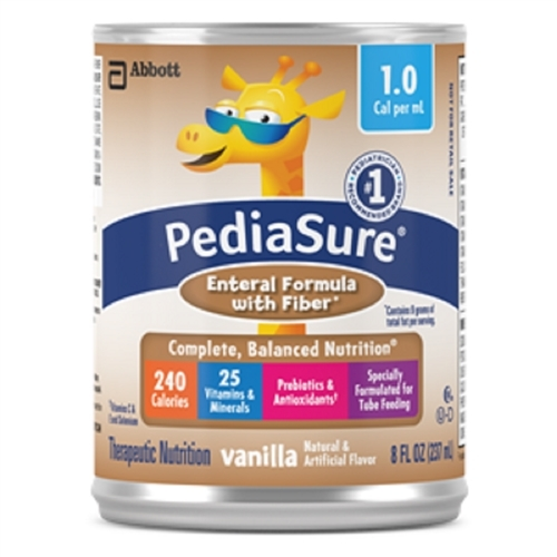 Pediasure Enteral Formula 1.0 Cal W/Fiber- Pack of 6