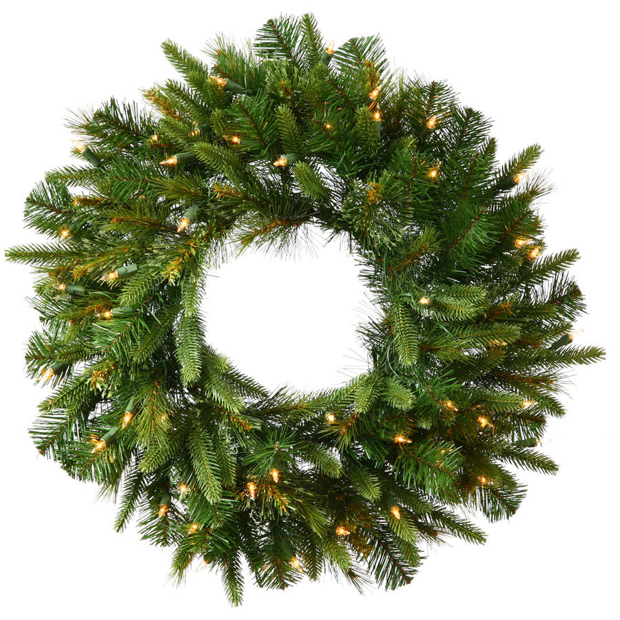 "Vickerman 30"" Cashmere Wreath Dura-Lit 50CL"