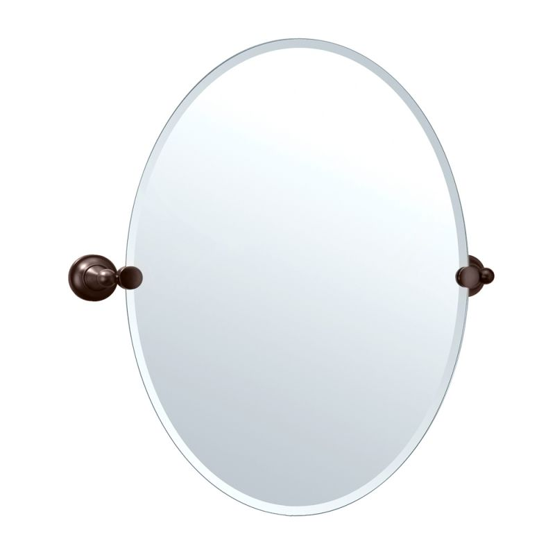 Gatco Oval Beveled Tiara Bathroom Mirror