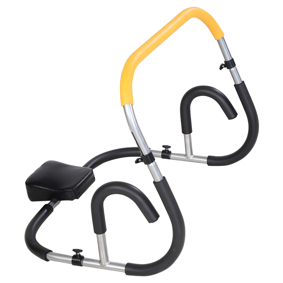 Costway Ab Fitness Crunch Abdominal Exercise Workout Machine Glider Roller Pushup