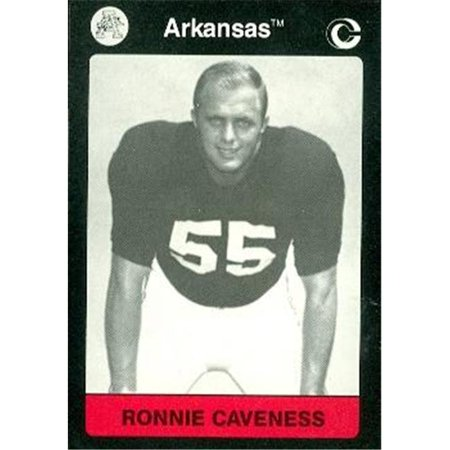 Ronnie Caveness Football Card (Arkansas) 1991 Collegiate Collection No.53
