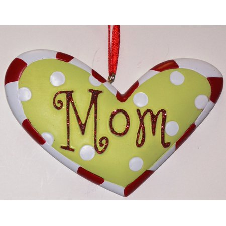 Mom Heart Personalized Christmas Ornament DO-IT-YOURSELF - Personalized M&m
