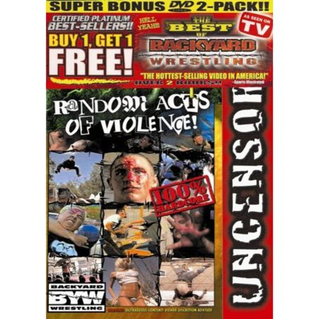 Backyard Wrestling (Mantra Films), Vol. 3 & 4 (Side-By - Backyard Wrestling (Mantra Films), Vol. 3 & 4 (Side-By-Side