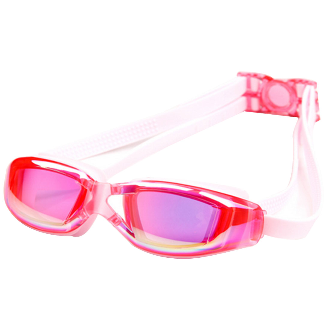 Waterproof Antifog Children Swimming Goggles for Kids Colorful Pink by