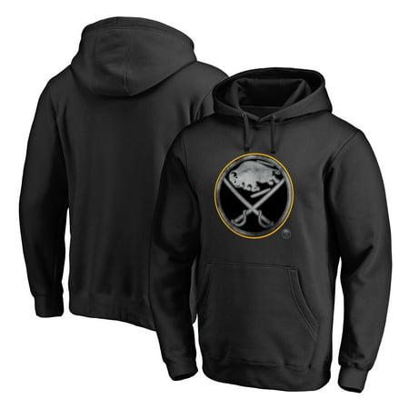 Sabre Tear - Buffalo Sabres Fanatics Branded Core Smoke Pullover Hoodie - Black