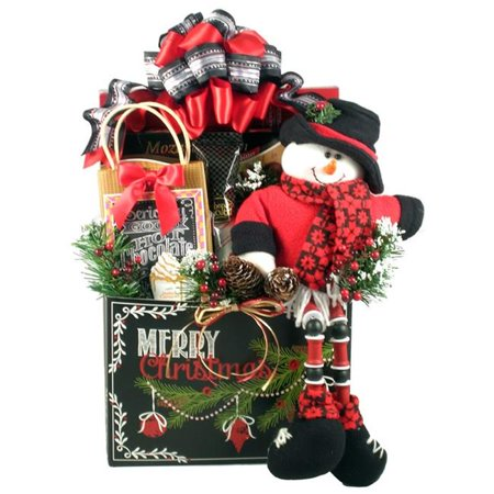 Gift Basket Drop Shipping MeChToAl-Lg A Merry Christmas To All, Holiday Gift Basket - image 1 of 1