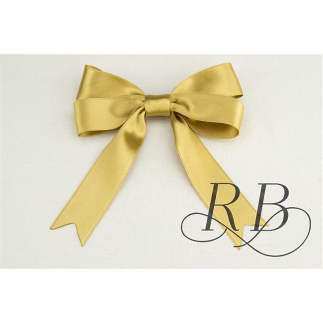 Ribbon Bazaar 6479 1 in. Luxious Satin Ribbon, Dijon - 25 Yards