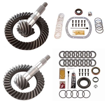 4.88 RING AND PINION GEARS & INSTALL KIT PACKAGE - DANA 30 TJ FRONT / D35 REAR