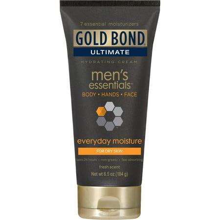 Gold Bond Ultimate Men Essentials Tous les jours d'humidité Crème hydratante, 6,5 oz
