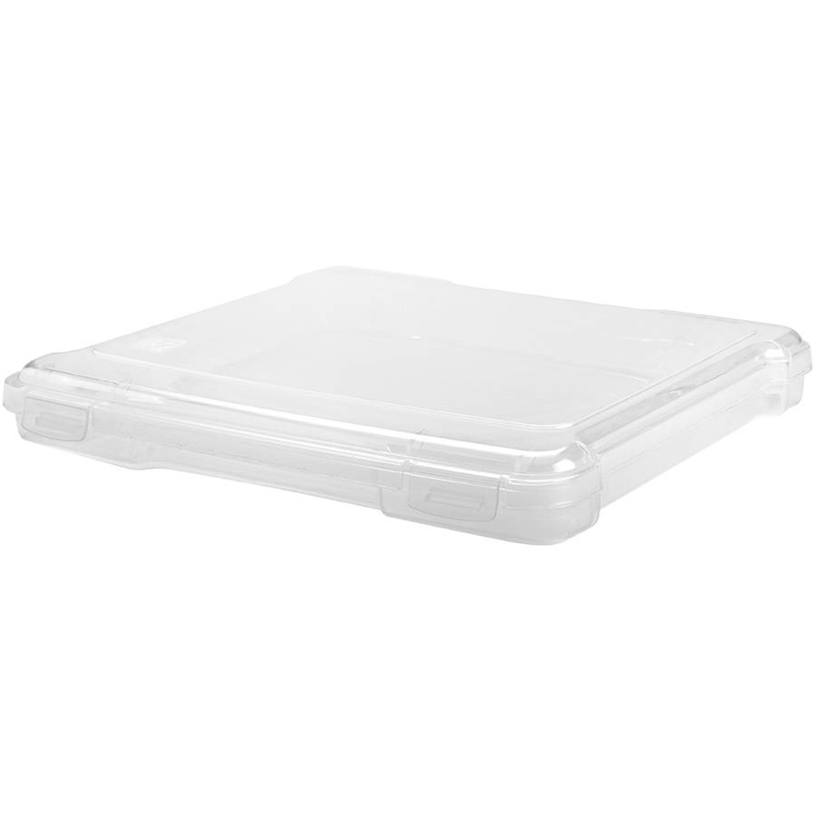 "IRIS 8"" x 8"" Slim Portable Project Case, Clear"