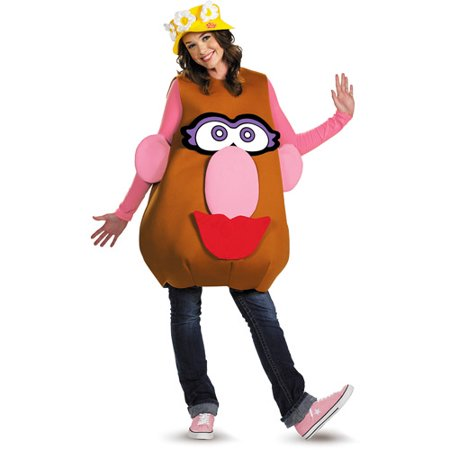 Jack In The Box Head Halloween Costume (Mr. Potato Head Adult Halloween)