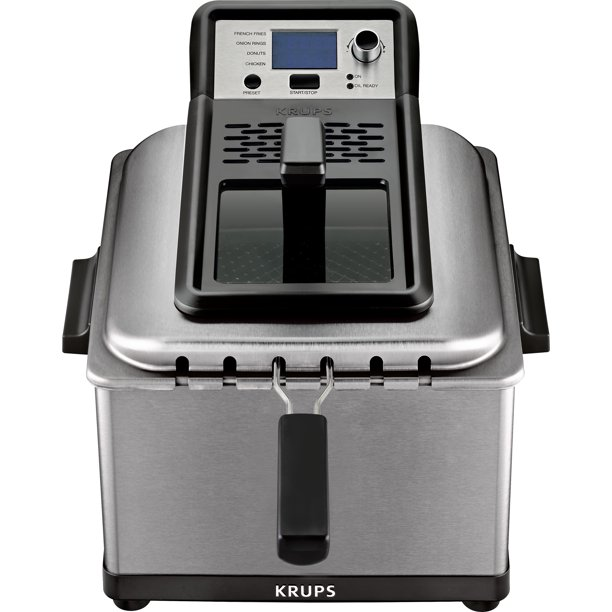 Krups Stainless Steel Professional Deep Fryer With 3 Frying