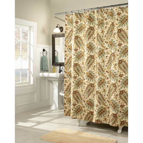 m.style Fanfare Shower Curtain