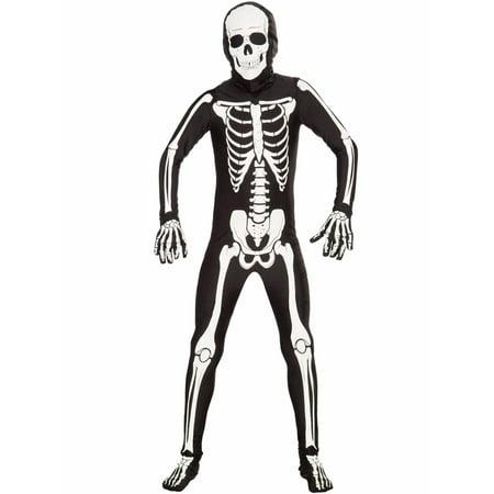 Kids Unisex Bone Suit Costume