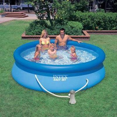 Intex 10 39 x 30 easy set swimming pool 330 gph filter - Piscine autoportante intex easy set ...