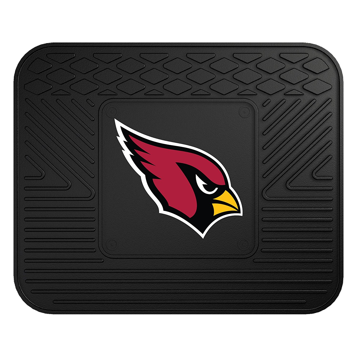 NFL Arizona Cardinals Vinyl Heavy Duty Car Mat, Universal size to fit all vehicle sizes By Fanmats
