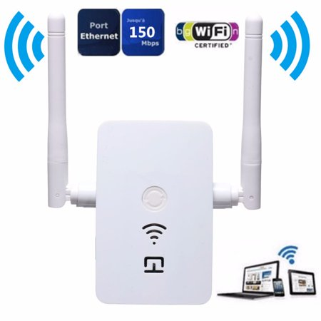Wireless N Wifi Internet Range Extender Booster Router Increase