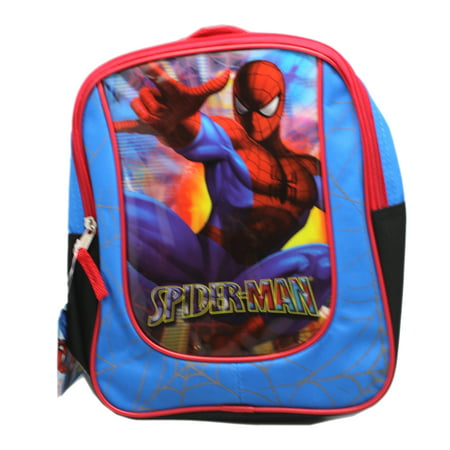 The Amazing Spider-Man Targeting Webbing Mini Size Kids Backpack (10in)
